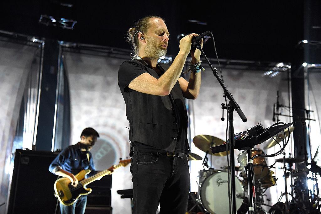 Thom Yorke beim Radiohead-Konzert im Madison Square Garden am 26. Juli 2016