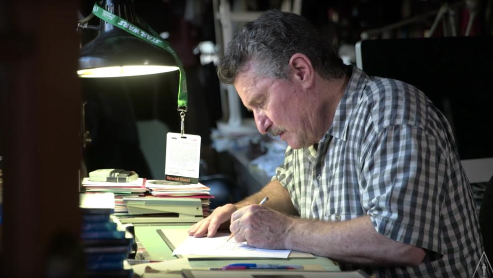 Dan Perri kreiert seit über 30 Jahren Filmlogos