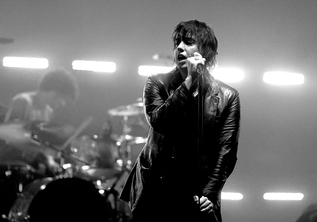 The Strokes perform at the City of Angels benefit concert at the Wiltern on July 25, 2016 in Los Angeles, California.
