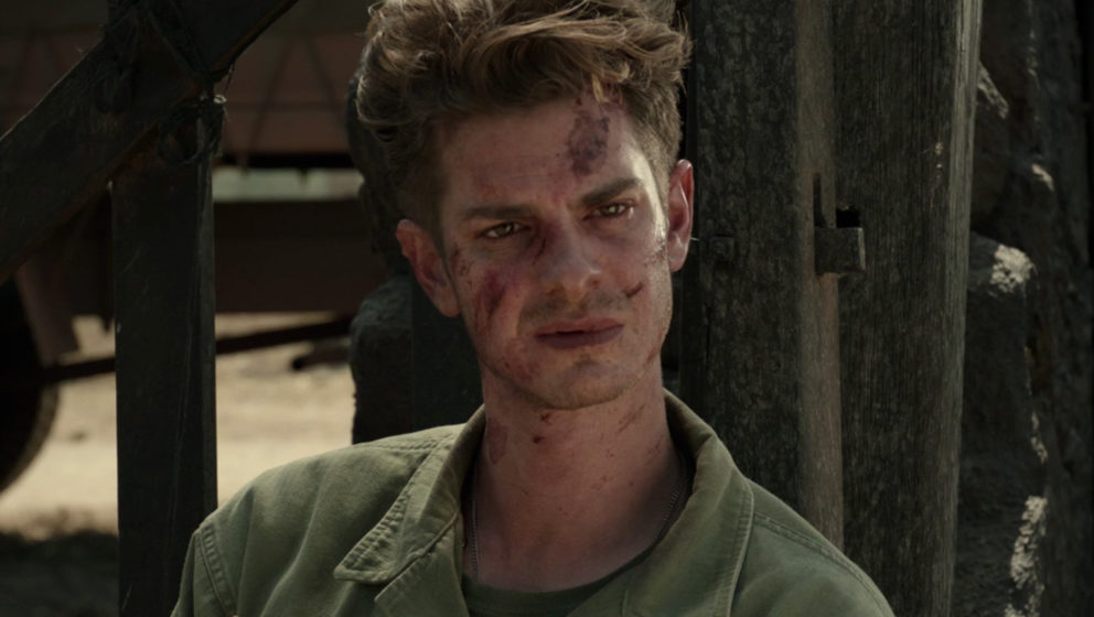 """In """"Hacksaw Ridge"""" spielt  Andrew Garfield den Kriegshelden Desmond Doss."""