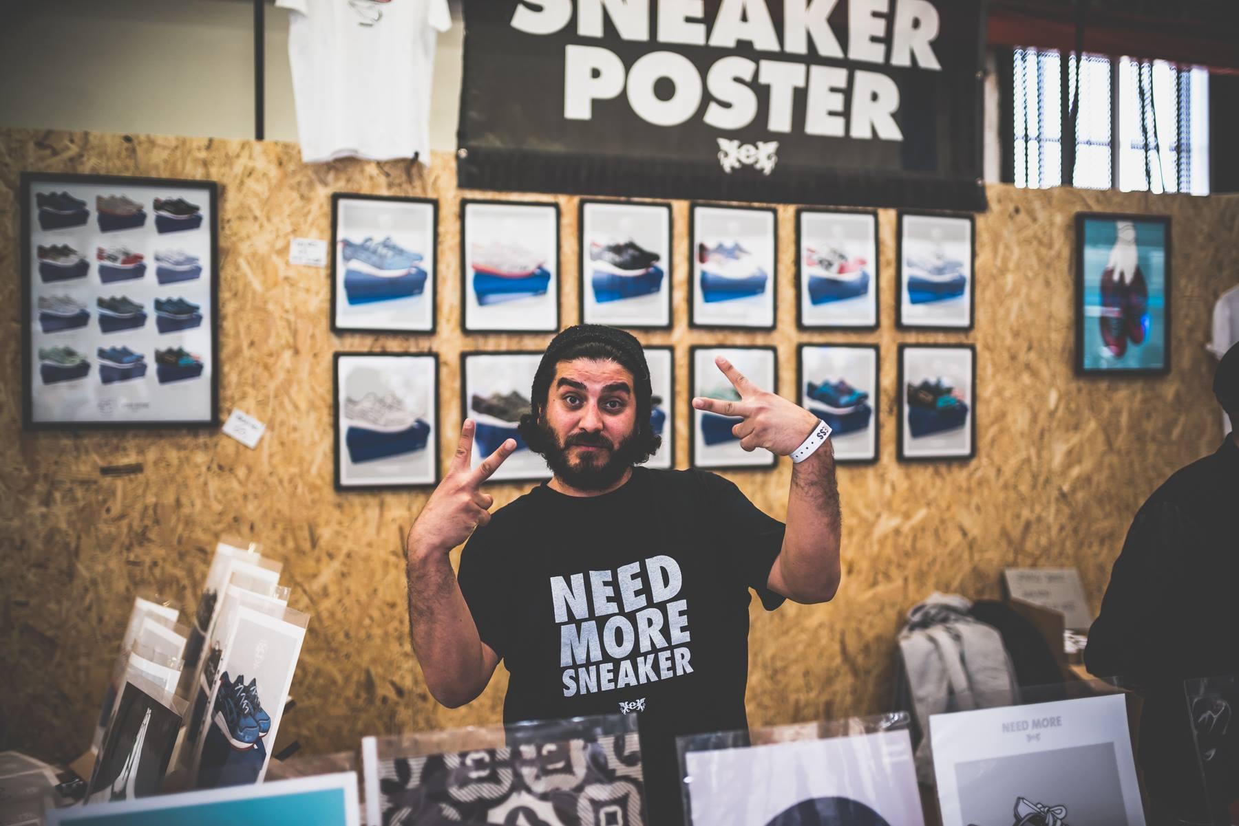 Wollen kaufen Sneakers? Bei #POPUP Sneakerness wird man fündig.