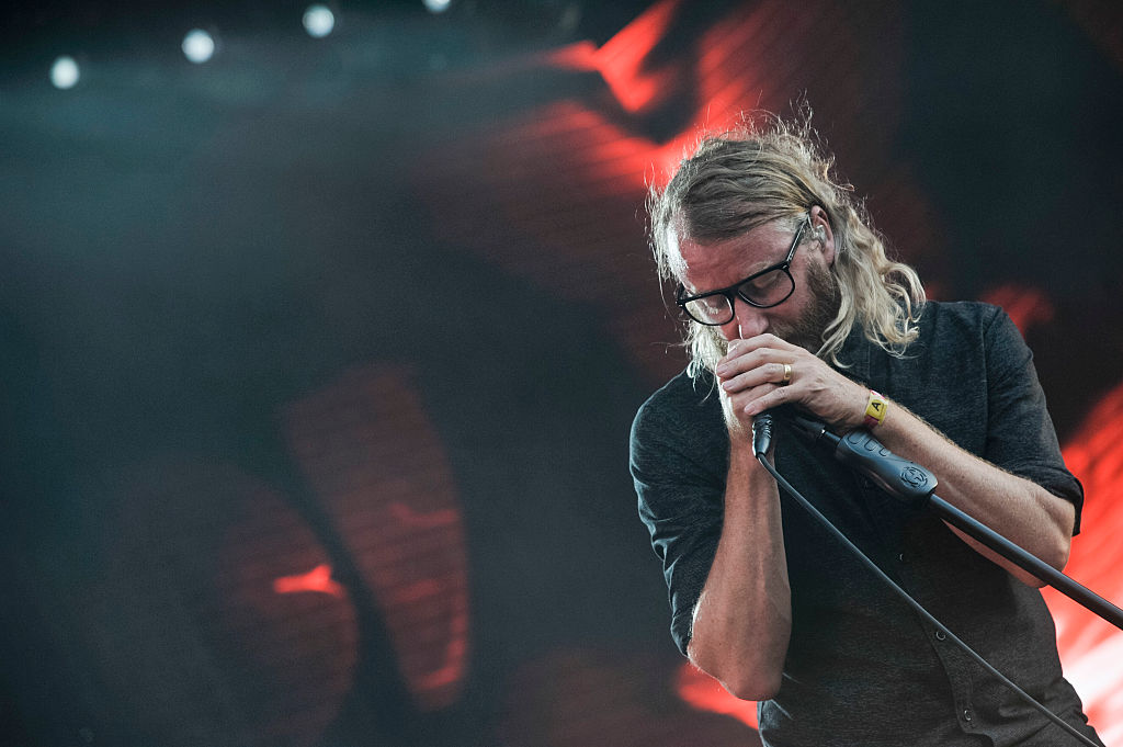 Matt Berninger beim Panorama Festival in New York am 23.07.2016