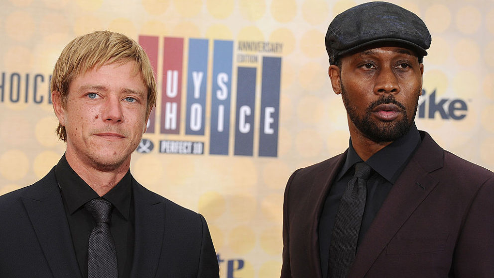 CULVER CITY, CA - JUNE 04:  Paul Banks and RZA of Banks & Steelz attend Spike TV's Guys Choice 2016 at Sony Pictures Stud