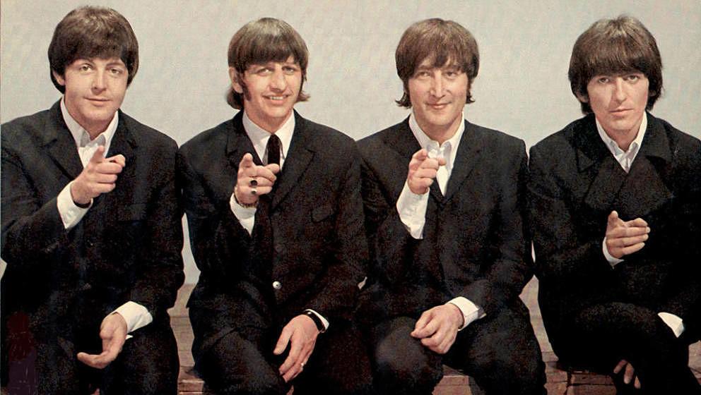 Die Beatles im Jahr 1966 bei Top Of The Pops