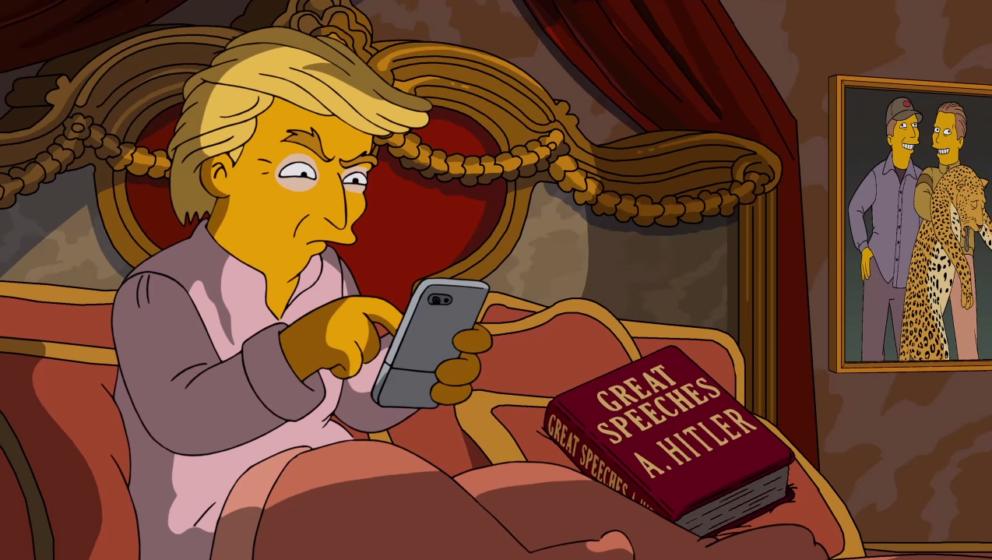 Gewagter Witz: Die Macher der Simpsons machen klar, was sie von Donald Trump halten.