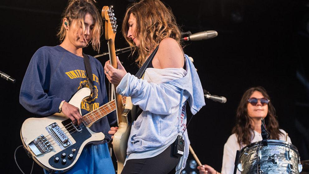 Jenny Lee Lindberg, Emily Kokal und Stella Mogzawa beim British Summer Time Festival im Hyde Park Anfang Juli