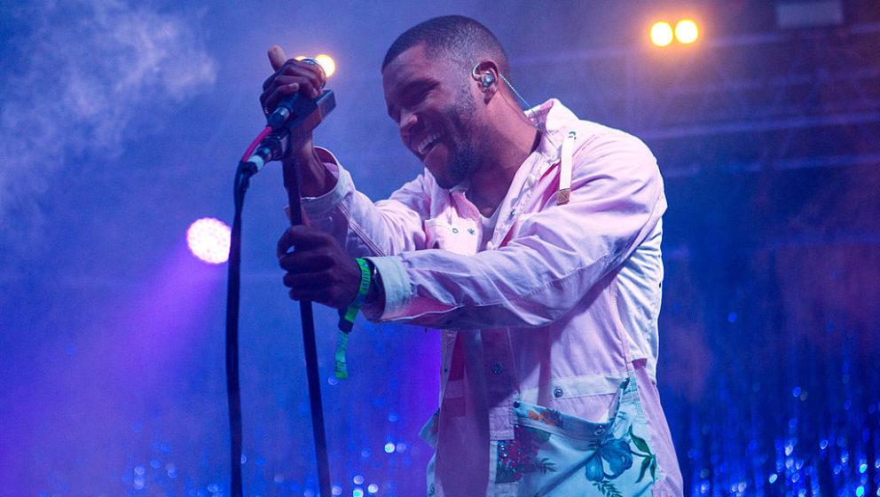 Frank Ocean live beim Bonnaroo Festival in Tennessee im Jahr 2014