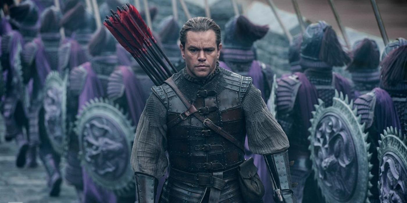 Matt Damon rettet die Welt vor Monstern. Und zwar im alten China.