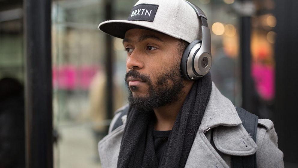 Kopfhörer als Fashion-Accessoire in Chicago