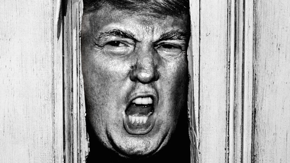 "The Trumping – Donald Trump in einer ""The Shining""-Parodie."