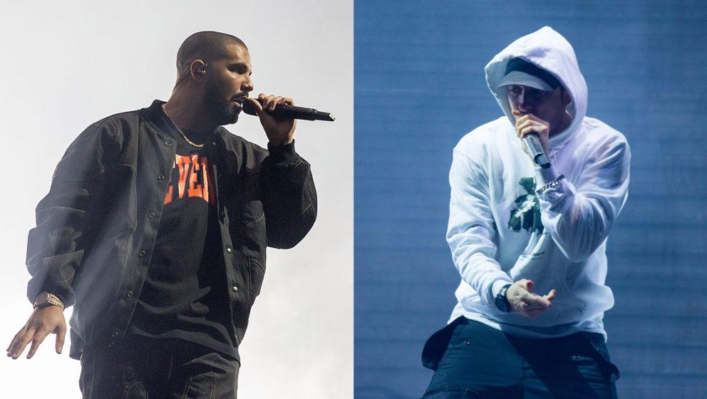 Werden nicht in einem Battle aufeinandertreffen: Drake und Eminem.