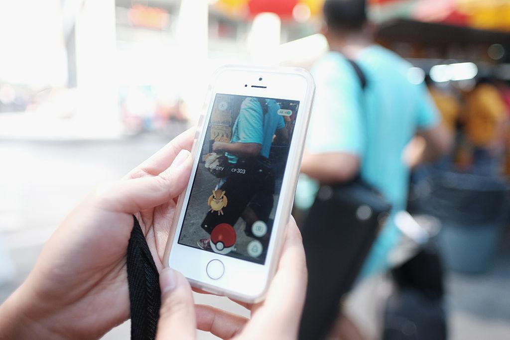 Pokemon-Go-Spieler in New York City
