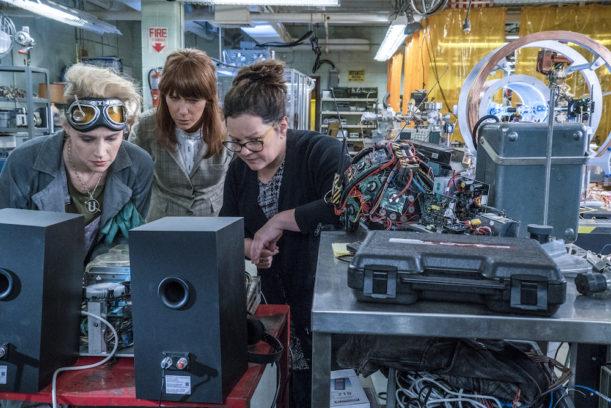 """Auch Technik-Kentnisse helfen hier nicht weiter: Das """"Ghostbusters""""-Remake reicht nicht an die Qualität des Originals heran."""