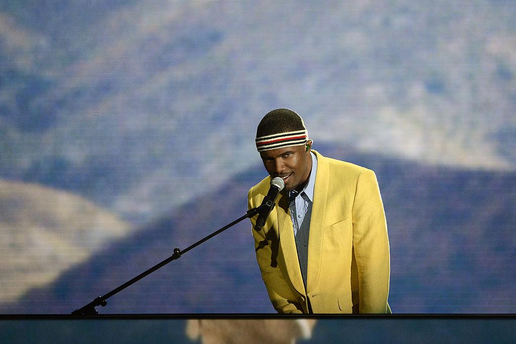 Frank Ocean bei den Grammys 2013