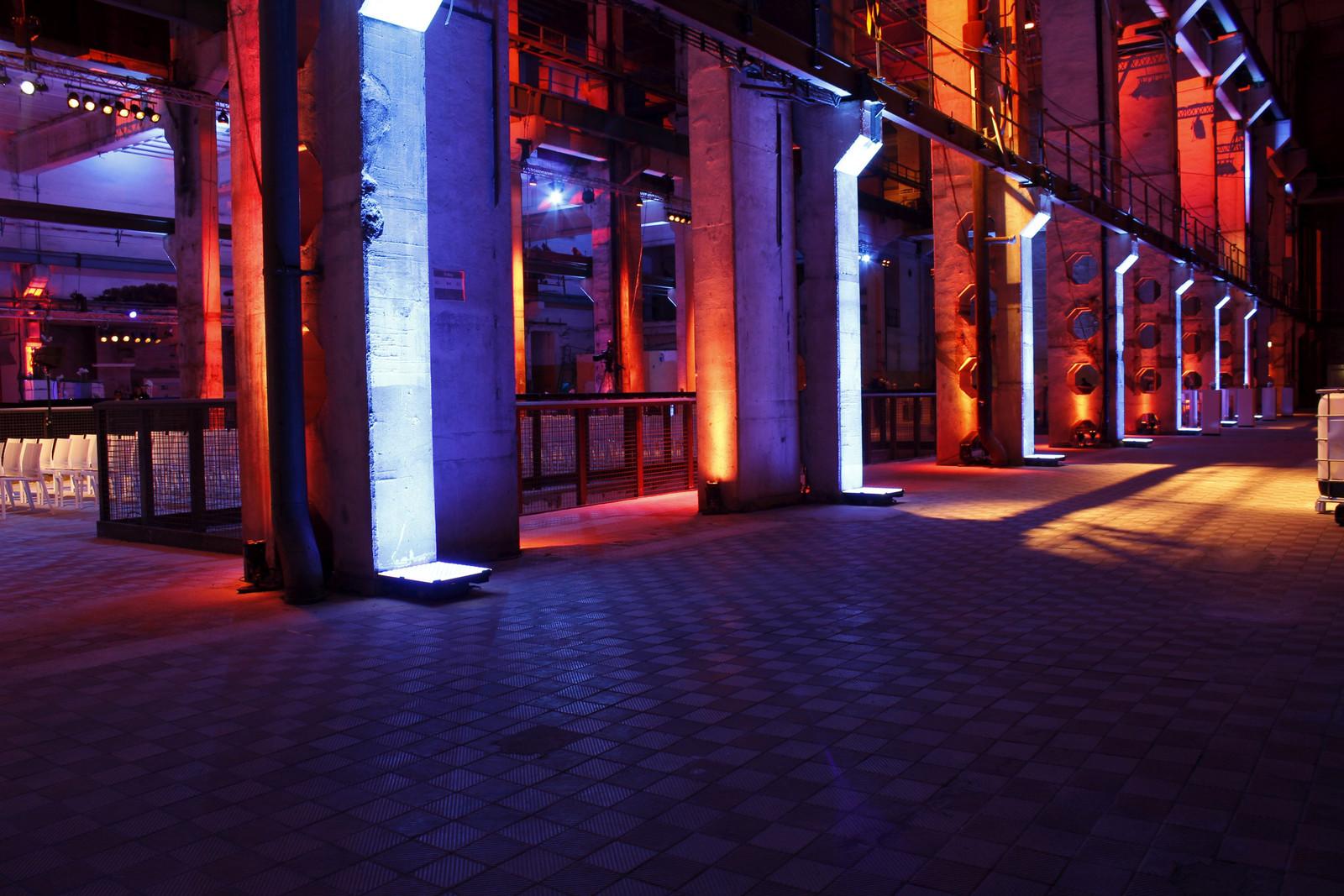 Das Kraftwerk Berlin ist Schauplatz des Atonal Festivals