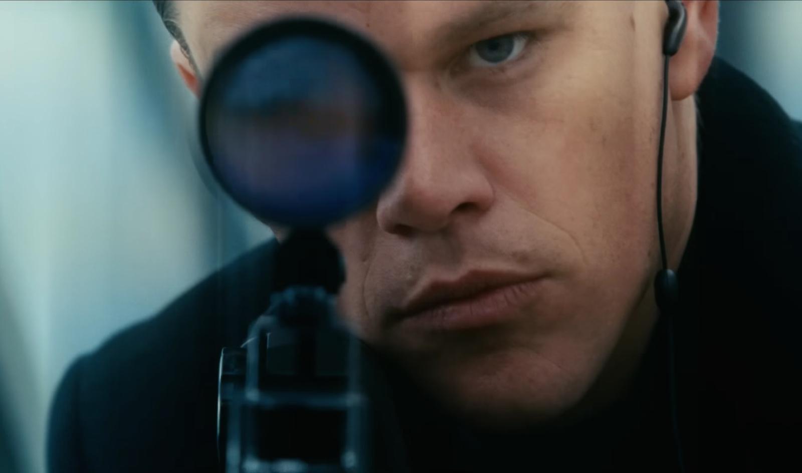 """Jason Bourne (Matt Damon) im zweiten Teil der Reihe, der """"Bourne Verschwörung""""."""