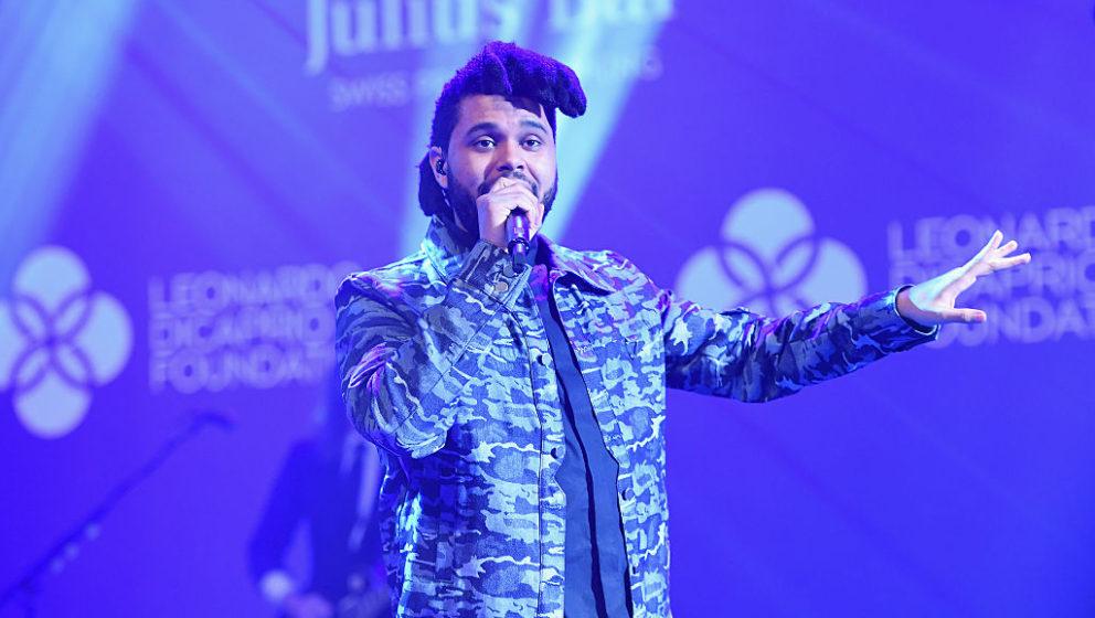 The Weeknd, hier live bei einem Charity-Event von Leonardo DiCaprio in Saint-Tropez
