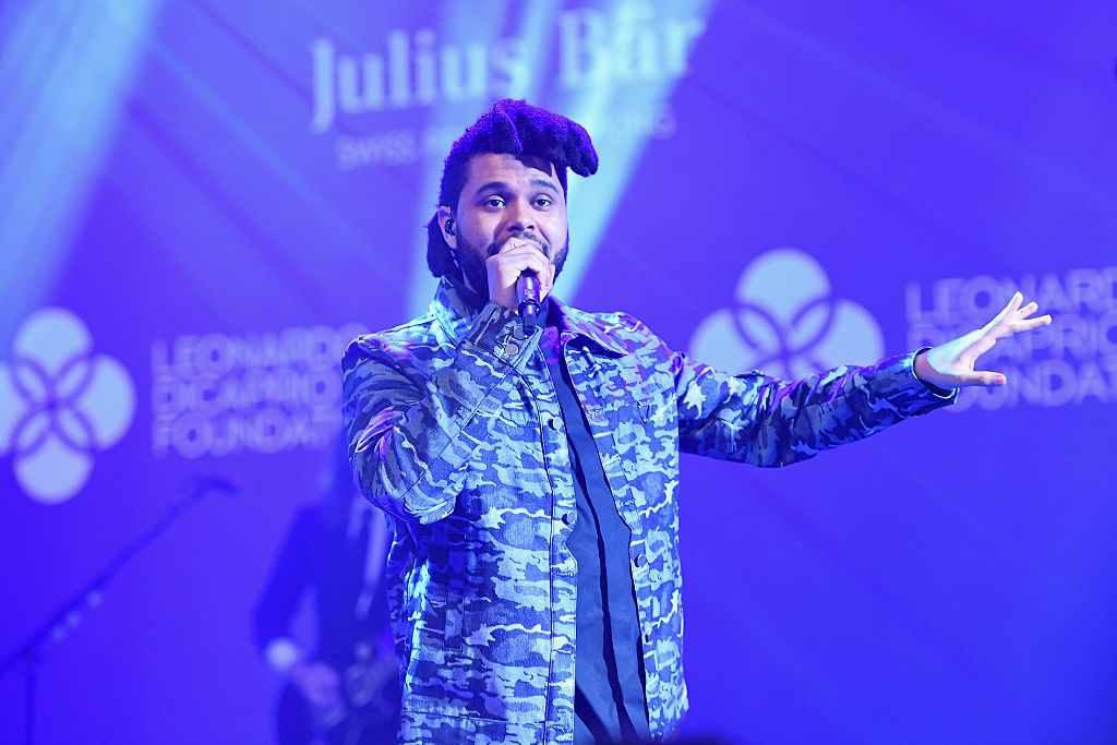 The Weeknd, hier live bei einem Charity-Event von Leonardo DiCaprio in Saint-Tropez