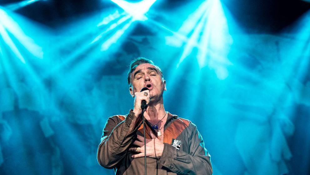 Morrissey live in Istanbul im Jahr 2014
