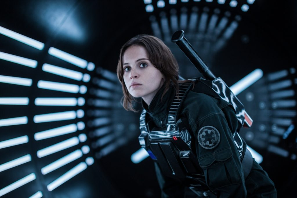 """Felicity Jones spielt in """"Star Wars: Rogue One """" die weibliche Hauptrolle Jyn Erso."""