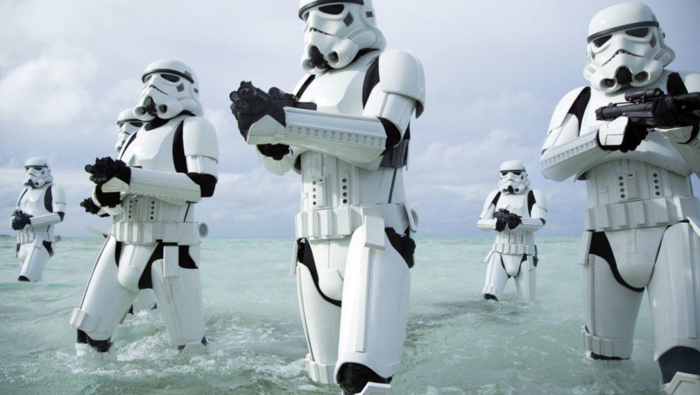 Stormtrooper auf der Suche nach Rebellen.