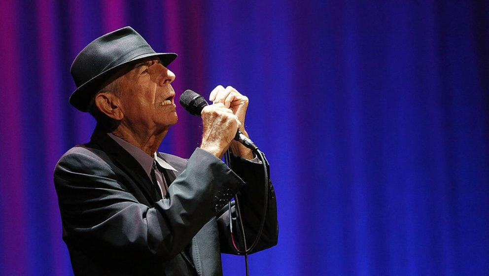 Leonard Cohen, hier live in Melbourne im Jahr 2013