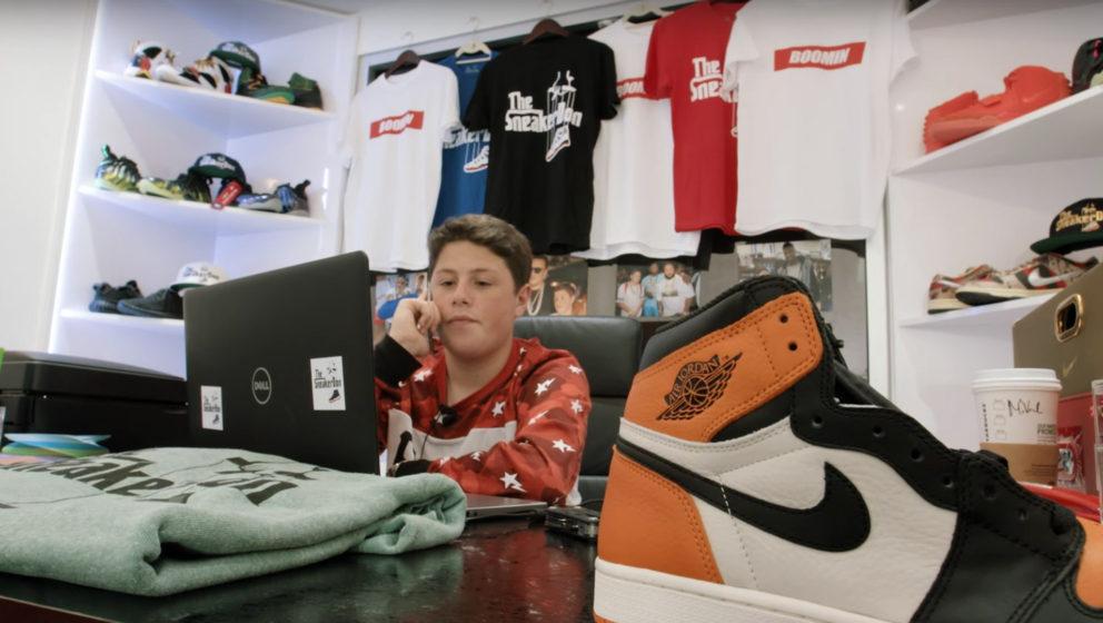 """Benjamin """"The Sneaker Don"""" Kickz ist bald Millionär. Durch den Wiederverkauf von Sneakern. Mit erst 16 Jahren!"""