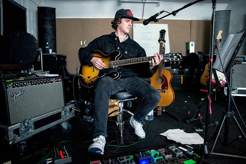 Jamie T in seinem Studio in Hackney im vergangenen Jahr
