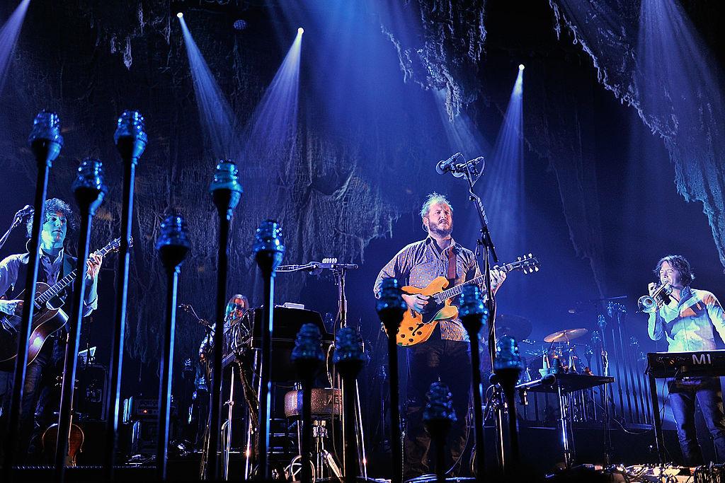 Bon Iver, hier live in der Wembley Arena 2012
