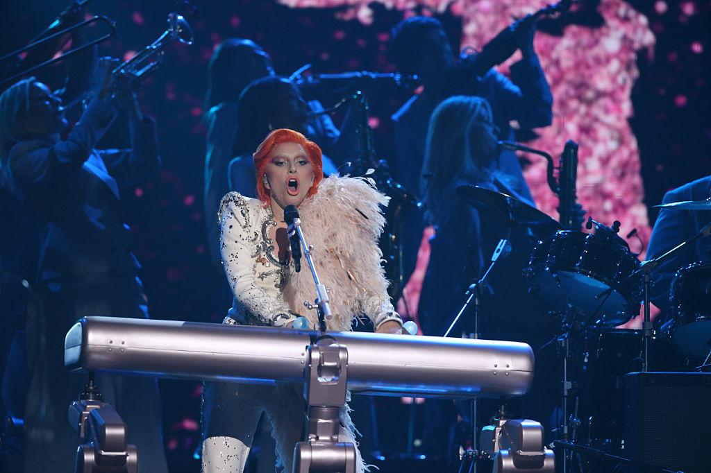 Lady Gaga, hier bei den Grammys im Februar