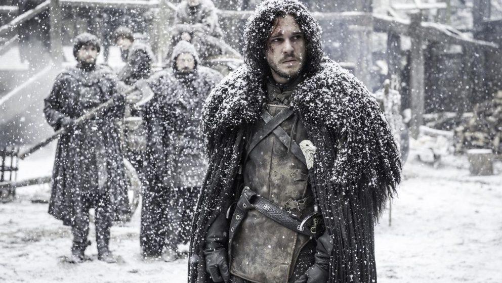 Jon Snow (Kit Harington) schafft es nicht auf den ersten Platz.