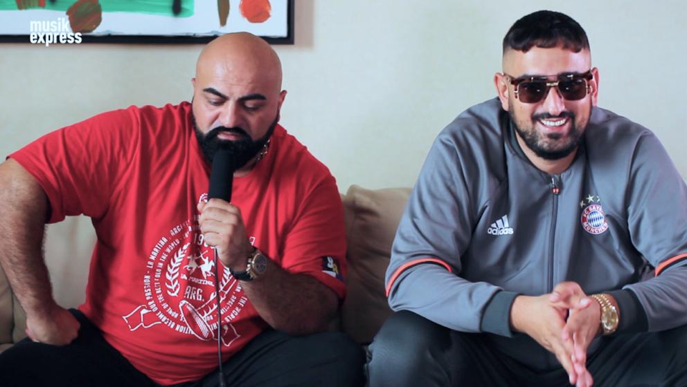 Xatar und Haftbefehl von COUP im Musikexpress-Interview