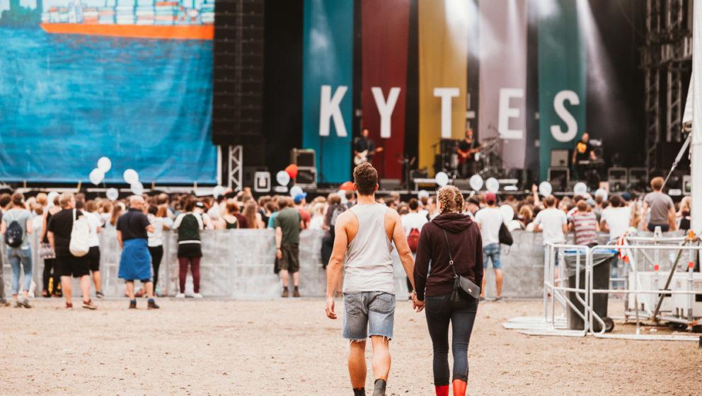Noch mehr Liebe während des Kytes-Konzertes
