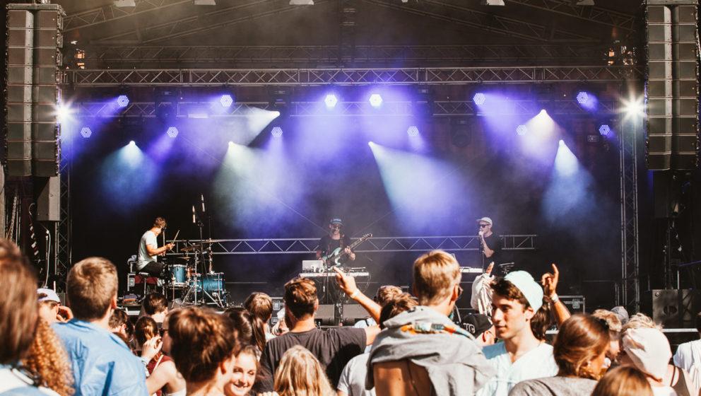 Die Kölner Coma spielten am Freitag ein atemberaubend gutes Live-Set.