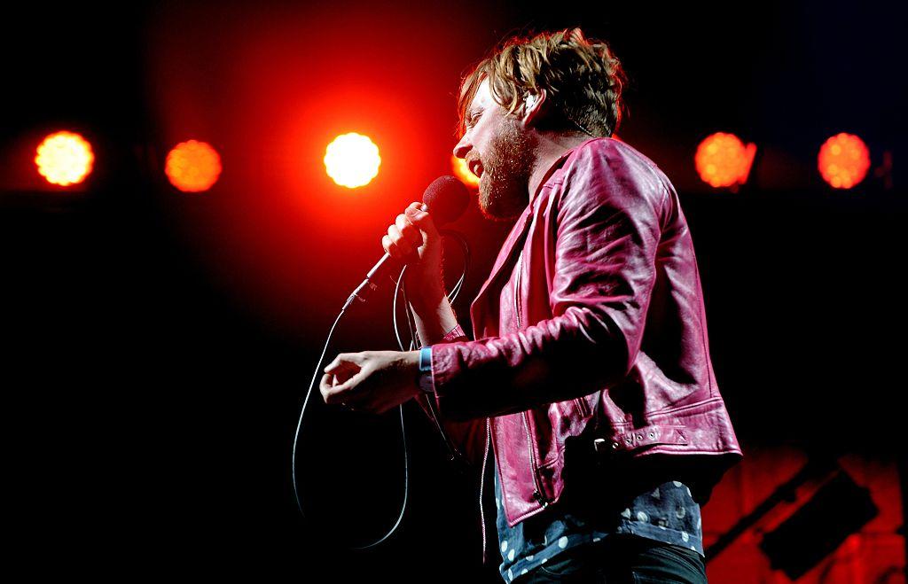 Ricky Wilson von den Kaiser Chiefs beim V Festival in Stafford im August