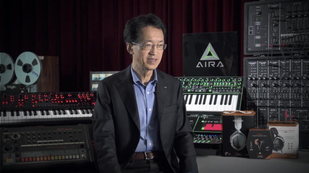 Rolands CEO Jun-ichi Miki wird am 9. September neue Produkte präsentieren.