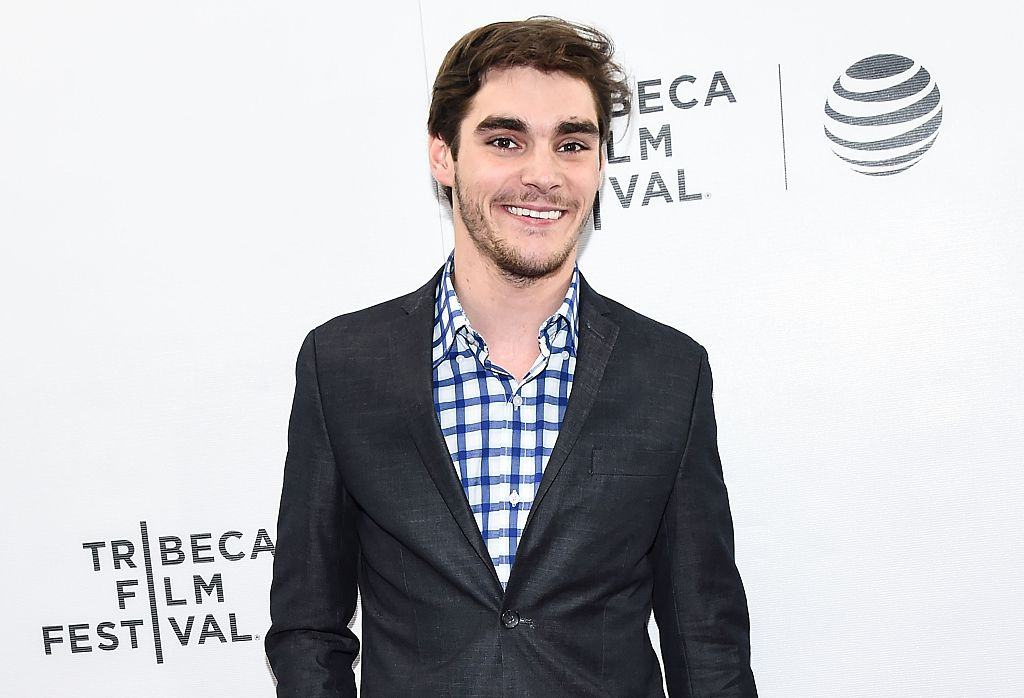 NEW YORK, NY - APRIL 16:  RJ Mitte attends the 'King Cobra' Premiere - 2016 Tribeca Film Festival at Regal Battery Park 11 on