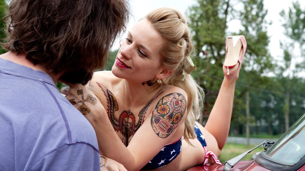 Auch dieses Paar befindet sich in unserer  Filmliste: Elise (Veerle Baetens) und Didier (Johan Heldenbergh) aus The Broken Ci