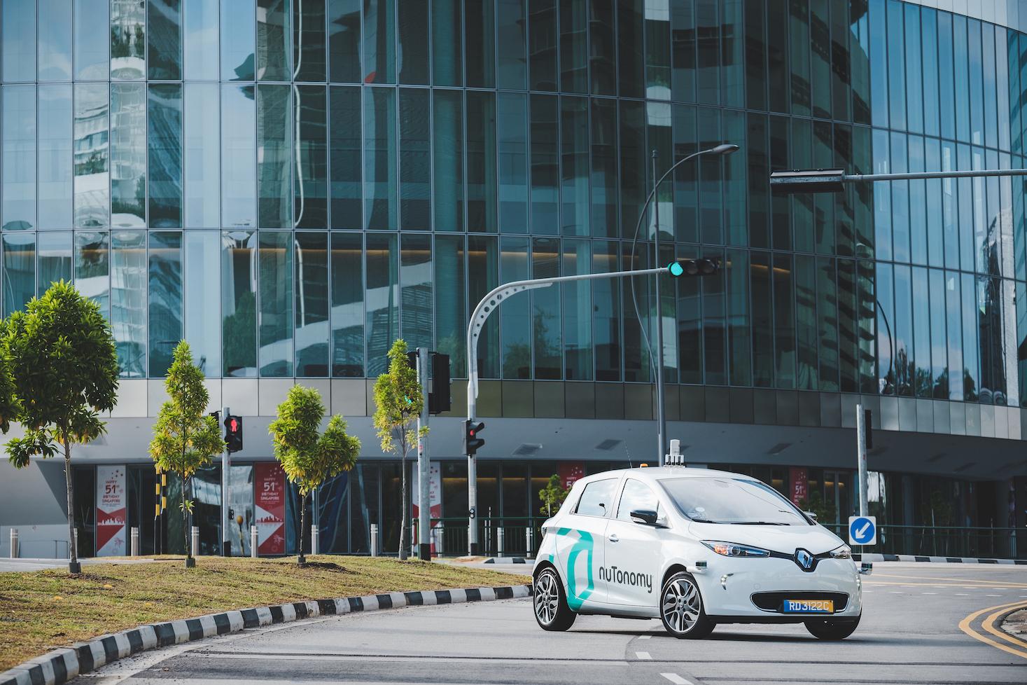 So sehen die autonomen Fahrzeuge von nuTonomy aus