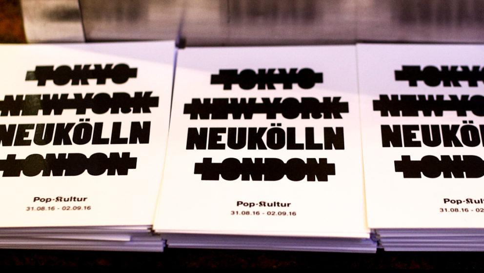 Pop Kultur PK  Katja Lucker, Christan Morin u. Martin Hossbach»Pop-Kultur« Ausblick 2016Thema: Festival-Höhepunkte 201