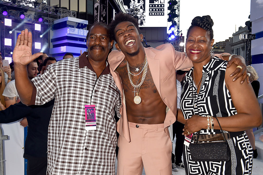 NEW YORK, NY - AUGUST 28:  Desiigner attends the 2016 MTV Video Music Awards at Madison Square Garden on August 28, 2016 in N