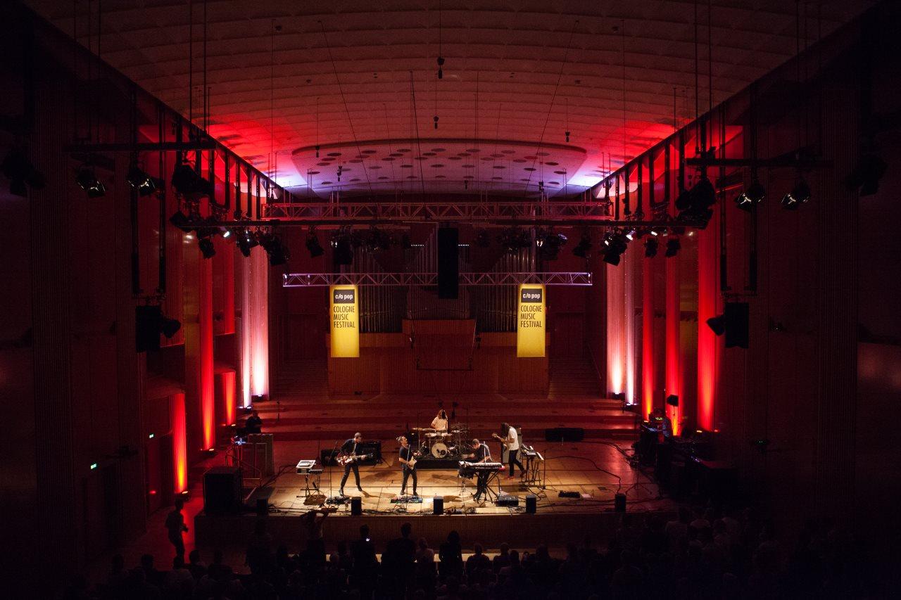 Indie-Pop im WDR- Funkhaus: Die Local Natives beim c/o pop Festival