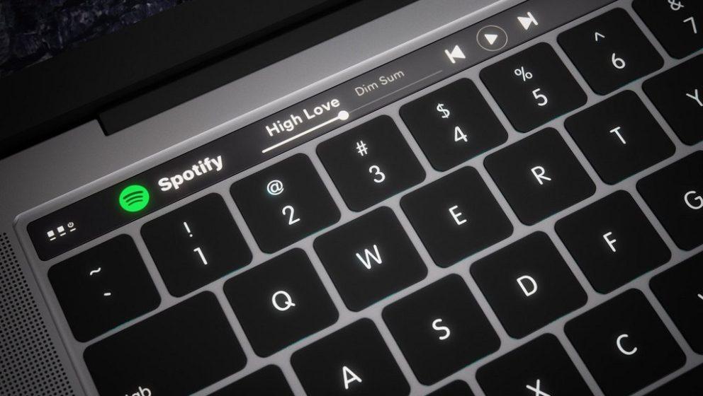 So könnte die neue Macbook-Tastatur aussehen.
