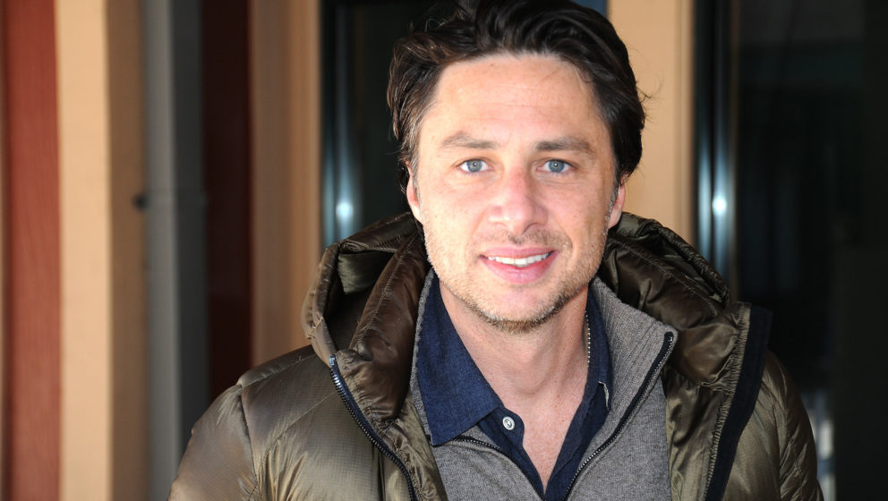 PARK CITY, UT - JANUARY 19:  Actor Zach Braff attends The 10th Anniversary LG Music Lodge At Sundance With Elio Motors And Te