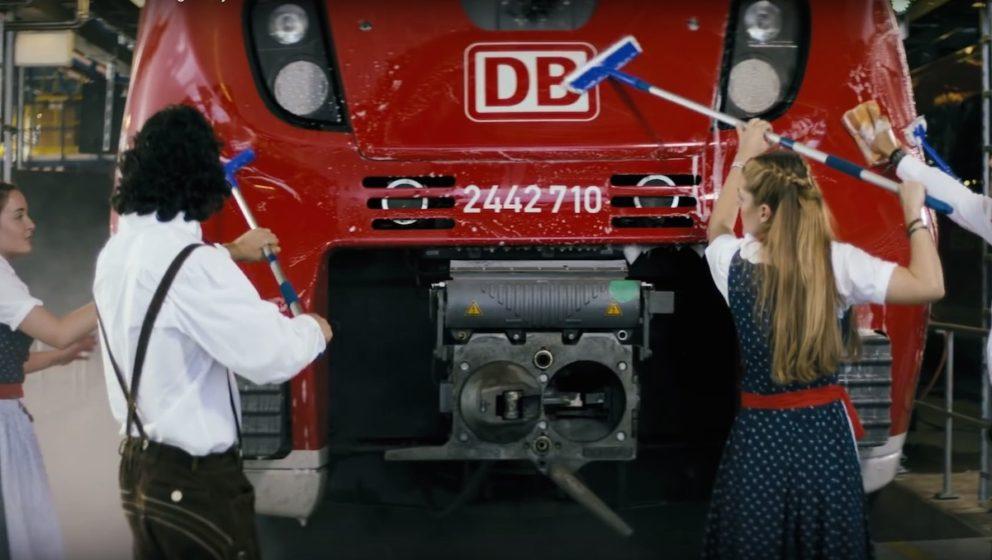 """Szene aus """"Rollin'""""- Der DB-Kampagne mit Eko Fresh"""