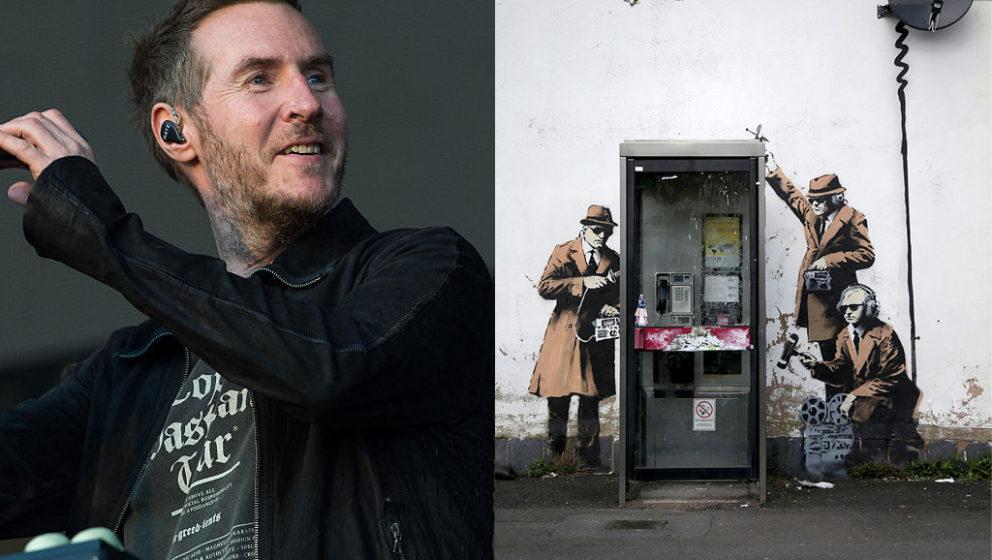 Verbirgt sich Del Naja hinter dem Künstler-Pseudonym Banksy?