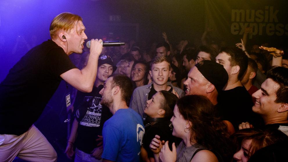 Zugezogen Maskulin, hier live bei der ME-Klubtour 2016 in Berlin