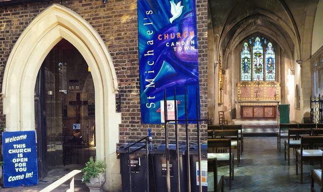 Die St Michael's Church in Camden soll zu einer Konzertlocation ausgebaut werden.