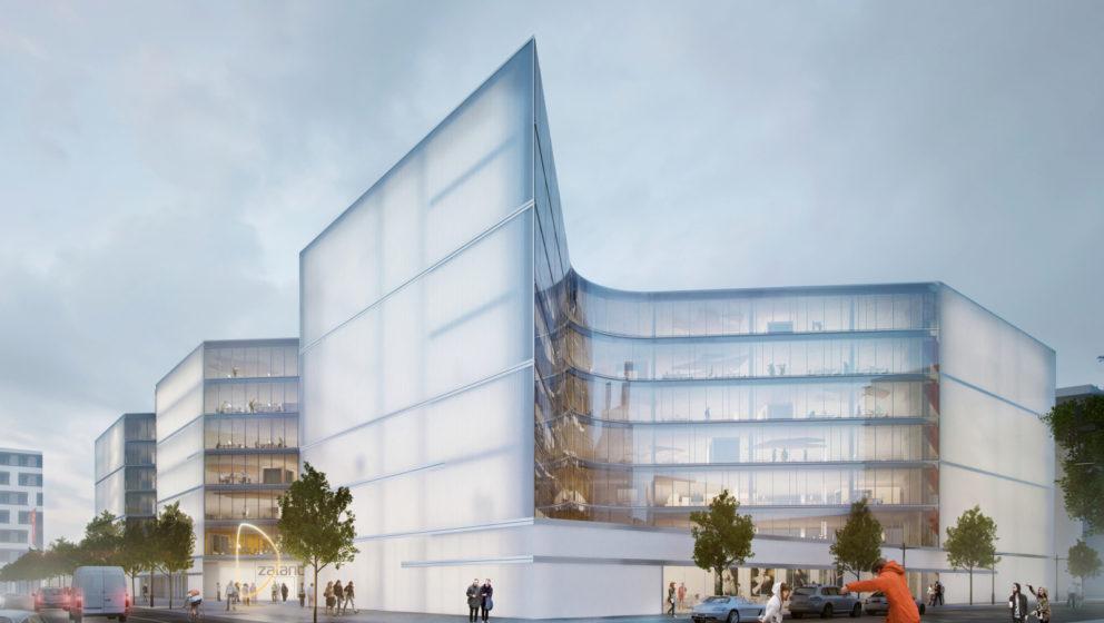 """So soll der """"Zalando Campus"""" in Berlin-Friedrichshain ausschauen"""