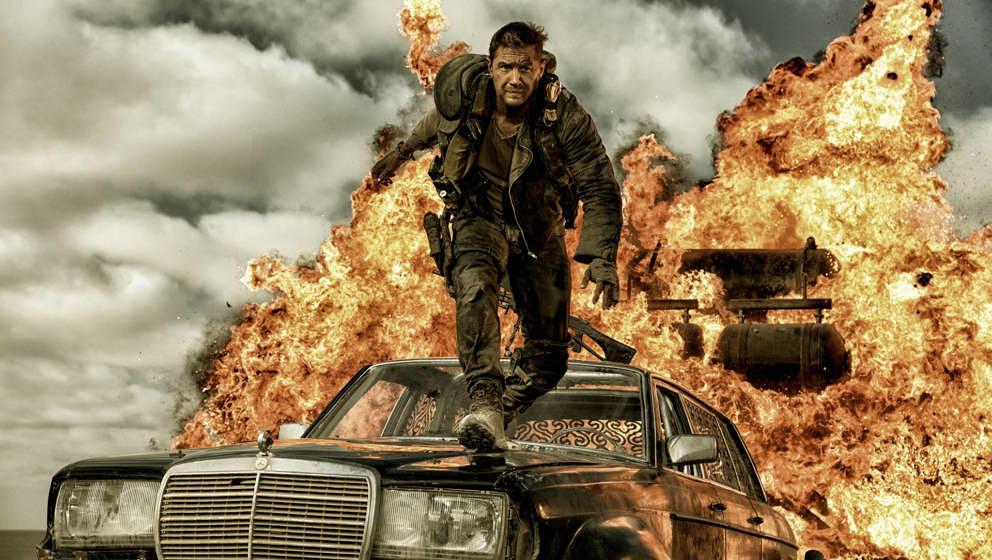 Tom Hardy als Mad Max.